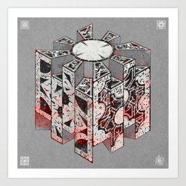 Hellraiser Puzzlebox D Art Print