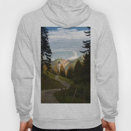 through the woods and over the mountains Hoody