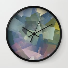 Cubism Abstract 180 Wall Clock