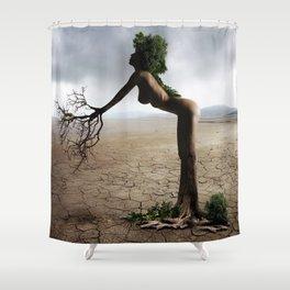Natural Woman Shower Curtain