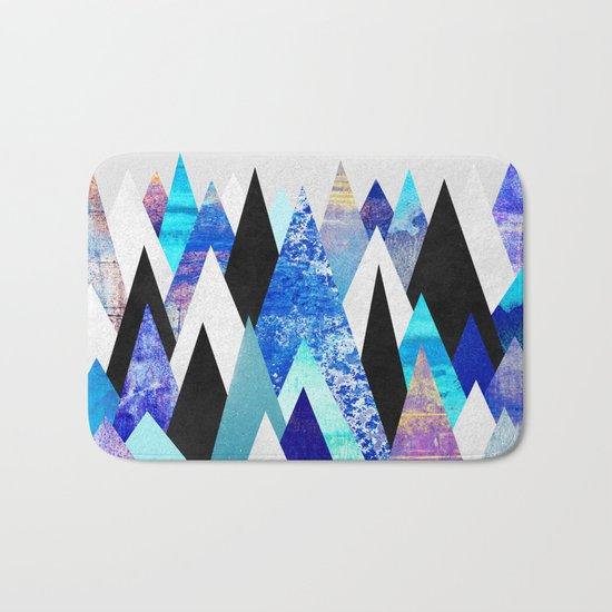 Blue Peaks Bath Mat