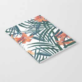 Tropical Lilies Notebook