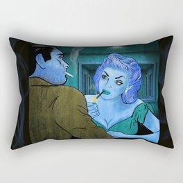 The Negotiation Rectangular Pillow