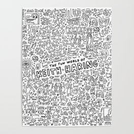 THE FUN WOLRD of KEITH HARRING Poster