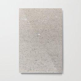 Textures Sand Metal Print