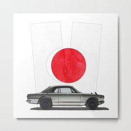 Hakosuka Skyline Metal Print