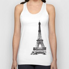 WE LOVE PARIS Unisex Tank Top