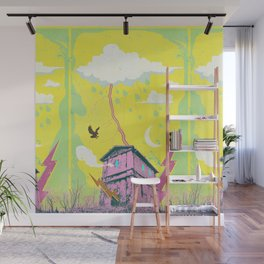 LIGHTNING STRIKE Wall Mural