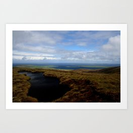 View of Egilsay from Rousay, The Orkneys - Scotland Art Print