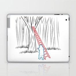 DA BEARS - CLIMBING Laptop & iPad Skin