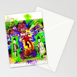 Digital Photo Graffiti Collage Stationery Cards