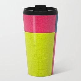 Color Square Travel Mug