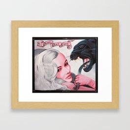 Dames Don't Care Framed Art Print