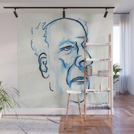 Butler Face Wall Mural