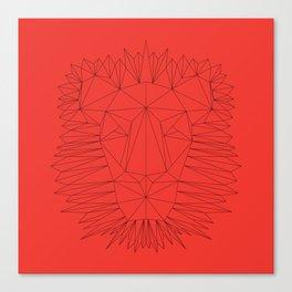 Poly-Lion Canvas Print