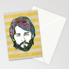 silly love songs Stationery Cards