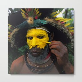 Papua New Guinea Adventure Metal Print