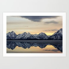 Grand Reflection  Art Print