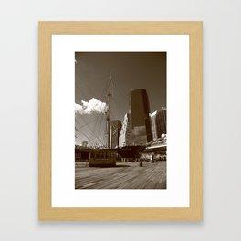 South Street Seaport - New York 2013 Framed Art Print