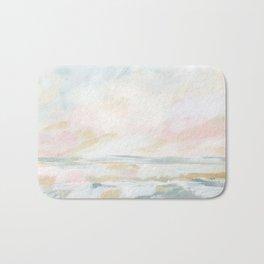 Golden Hour - Pastel Seascape Bath Mat