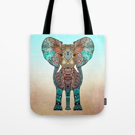 BOHO SUMMER ELEPHANT Tote Bag
