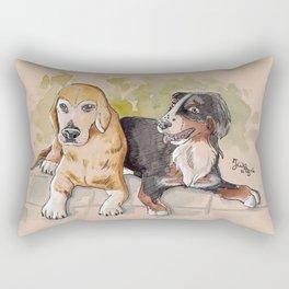 Wuff! Rectangular Pillow