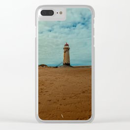 Point of Ayr Lighthouse Clear iPhone Case