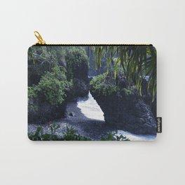 Honomaele Hana Maui Hawaii Carry-All Pouch