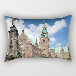 Frederiksborg Castle Denmark  Rectangular Pillow