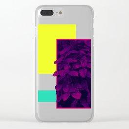 Neon Bush #society6 #retro Clear iPhone Case