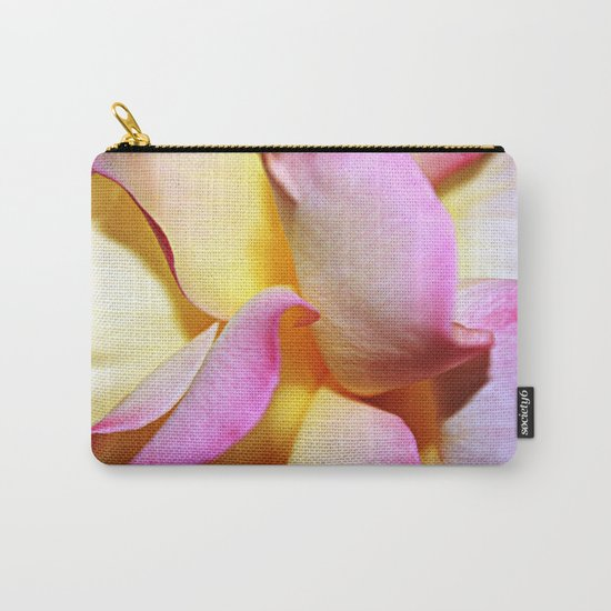 Peace Rose Petals Carry-All Pouch
