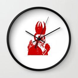 Skeleton Jester Wall Clock