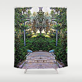 Weight Loss Mastery Shower Curtain