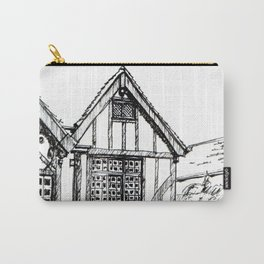 Traditional House in York, England Carry-All Pouch