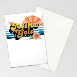 Mellow Gold Stationery Cards