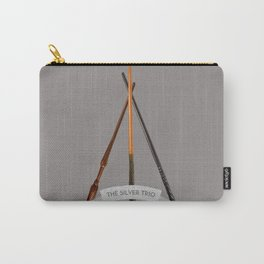 The Silver Trio Carry-All Pouch