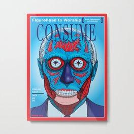 CONSUME: PUTIN Metal Print