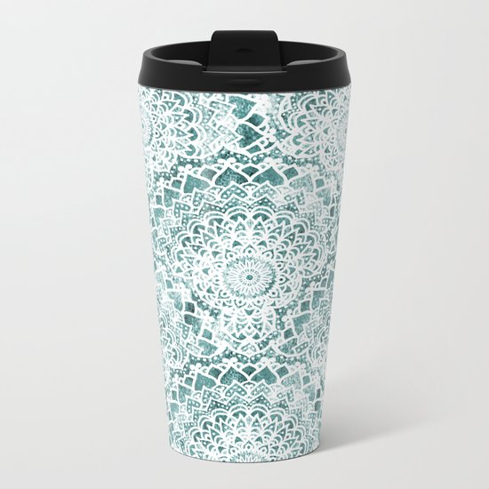ACQUA FESTIVAL MANDALAS Metal Travel Mug