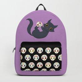 Kitty sugar skull Backpack