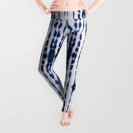 Boho Tie-Dye Knit Vertical Leggings