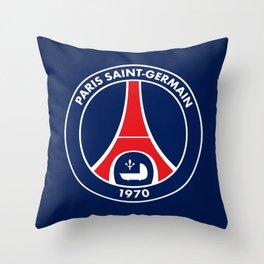 Paris Saint-Germain Throw Pillow
