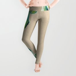 Curly leaf Leggings