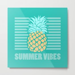Summer Vibes Two Metal Print