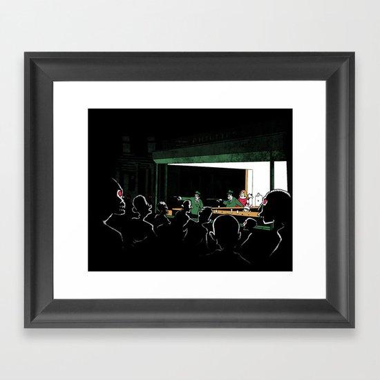 Nighthaunt Framed Art Print