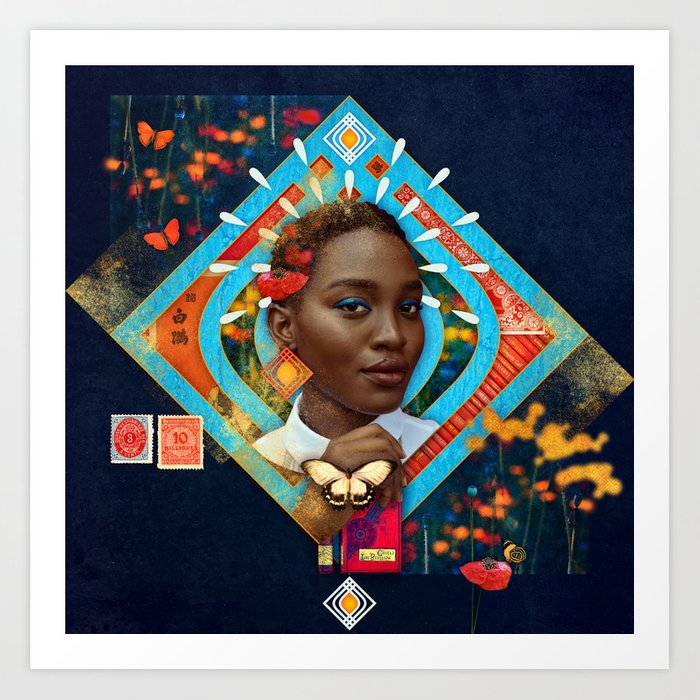 Thrive :: Fine Art Collage Art Print