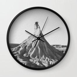 BADLANDS / Spain Wall Clock