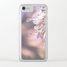 Dappled in Pink Clear iPhone Case