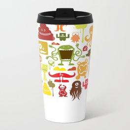 Monstropolis: Warm Metal Travel Mug