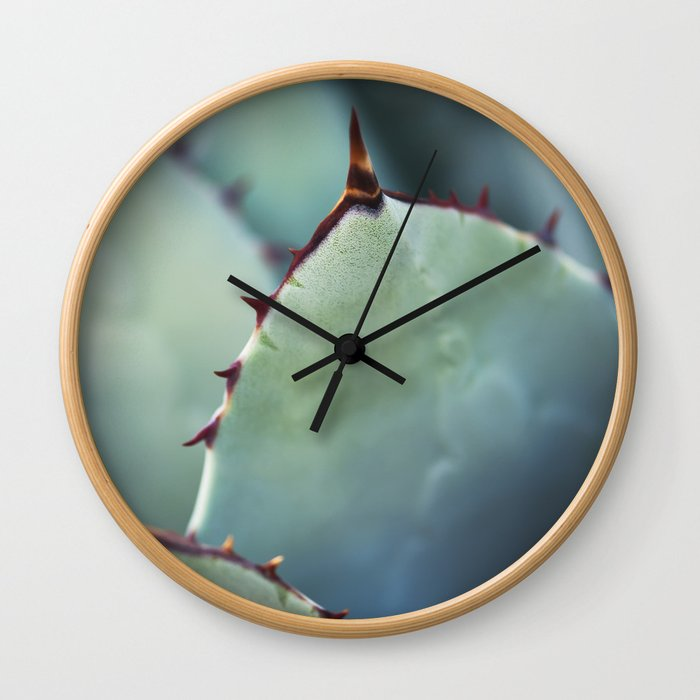 Agave Plant II Wall Clock