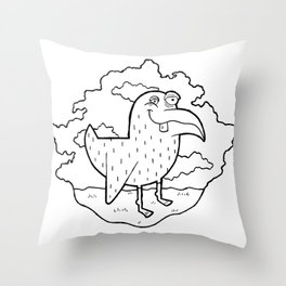Bird Stuff by Kevin Berquist Throw Pillow